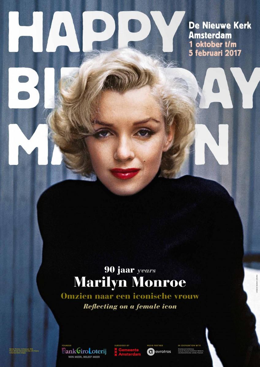 Marilyn Monroe is coming to De Nieuwe Kerk
