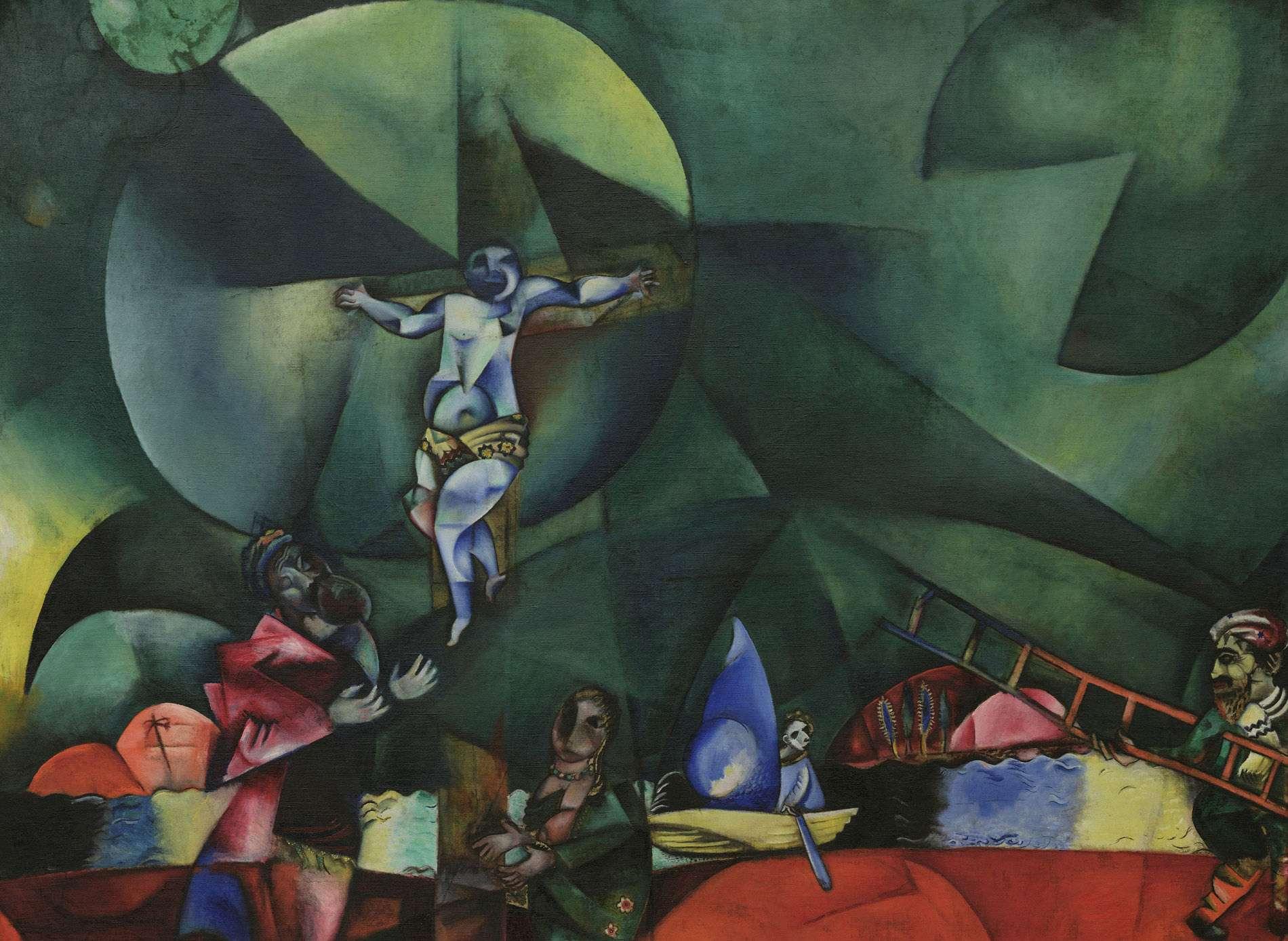 151210 Marc Chagalls Calvary is vijfde editie Meesterwerk