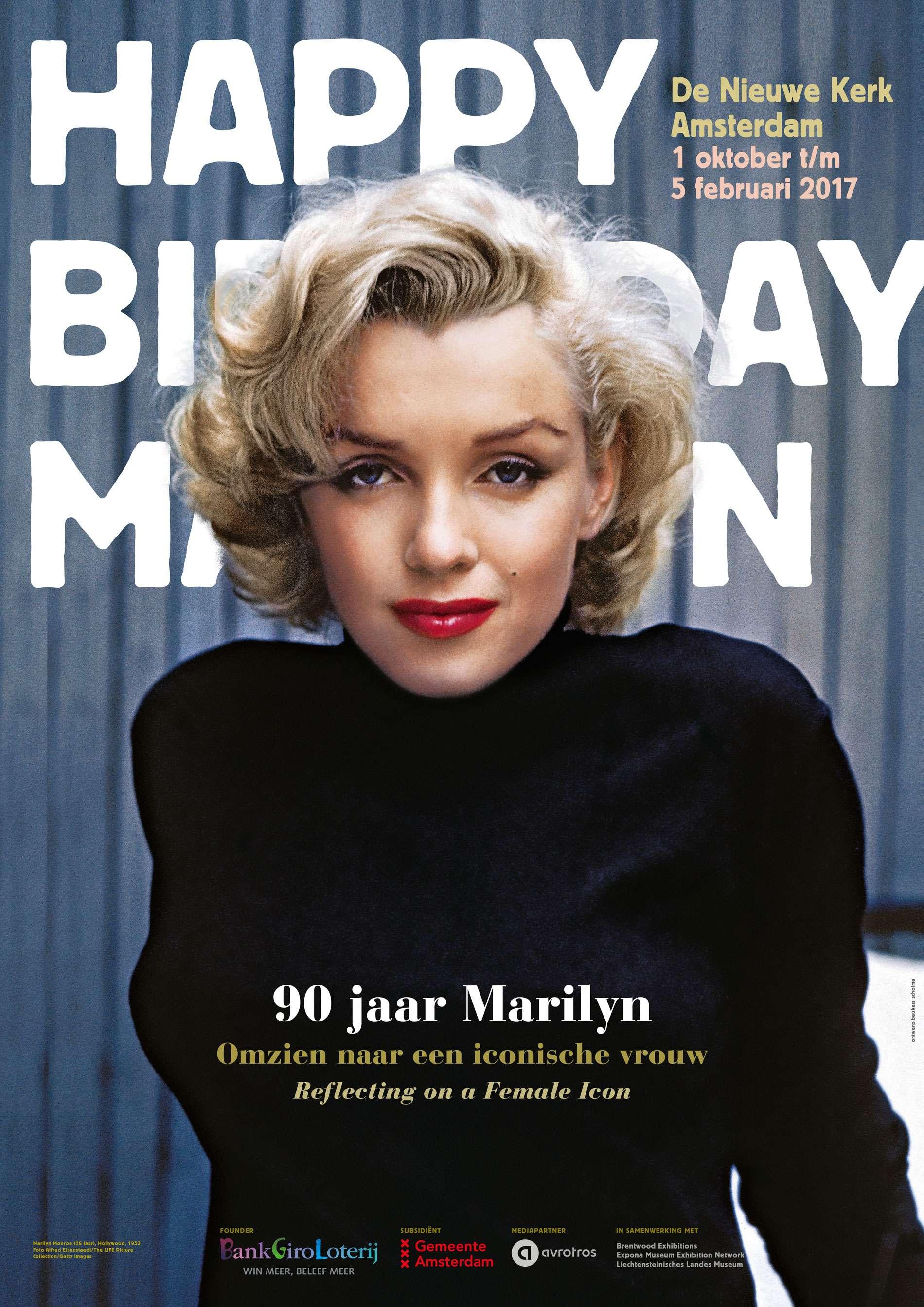 90 jaar Marilyn. Omzien naar een iconische vrouw