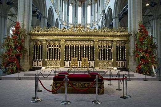 Impressie openstelling De Nieuwe Kerk na de inhuldiging