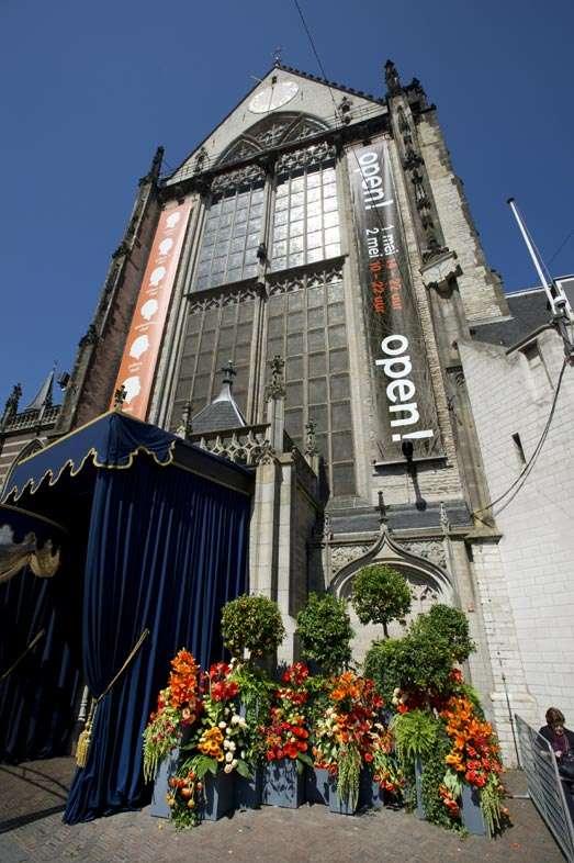 De Nieuwe Kerk na de inhuldiging twee dagen lang voor iedereen open