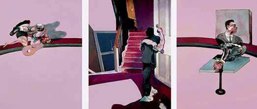 De Nieuwe Kerk zet serie Meesterwerk voort met bijzondere triptiek van Francis Bacon