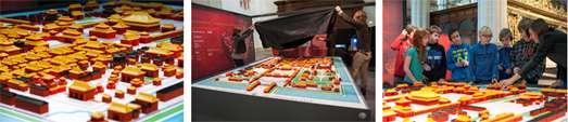 3D-print Verboden Stad voltooid in De Nieuwe Kerk Amsterdam