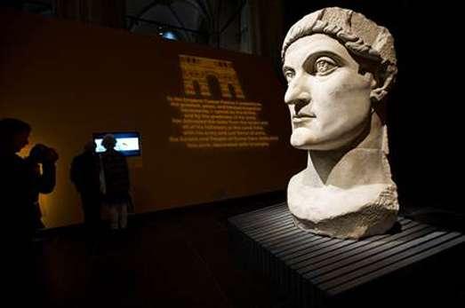 Rome. De droom van keizer Constantijn. Foto Evert Elzinga