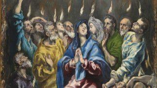 El Greco's Pentecostés is Het Meesterwerk van 2017 in De Nieuwe Kerk Amsterdam