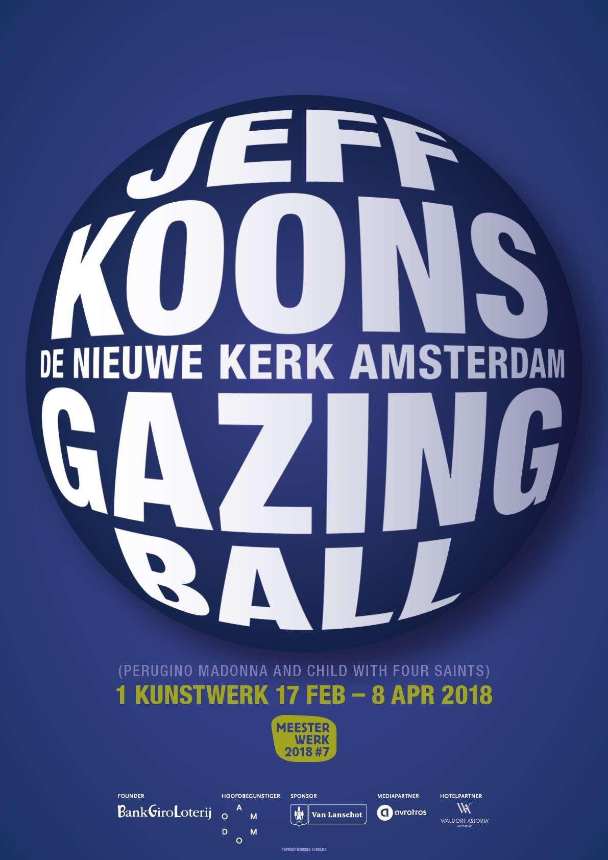 Meesterwerk 2018 Jeff Koons Gazing Ball