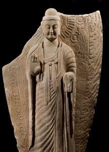 Staande Boeddha, Collectie Ben Janssens Oriental Art, Londen