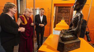 Het leven van Boeddha geopend door Zijne Heiligheid de Dalai Lama