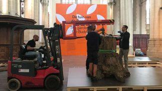 Opbouw kunstwerk Ai Weiwei van start gegaan