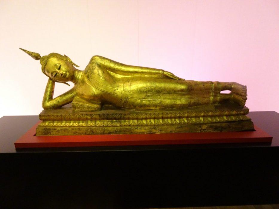 Reclining Boeddha, Thailand, 18th Century, collection Ger Eenens