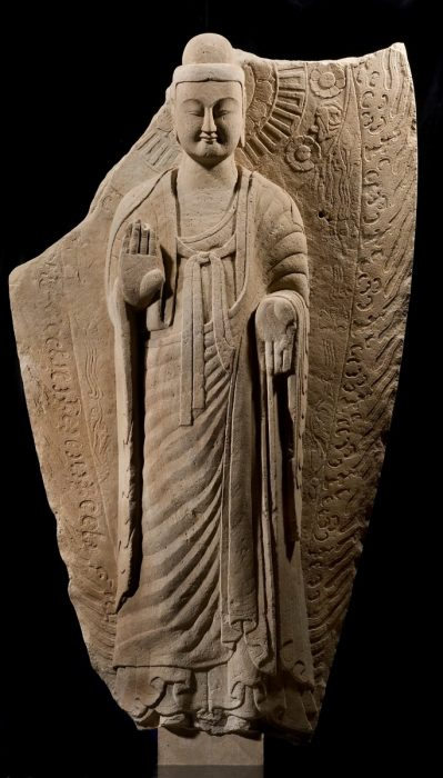 Standing Buddha, Collection Ben Janssens Oriental Art, London