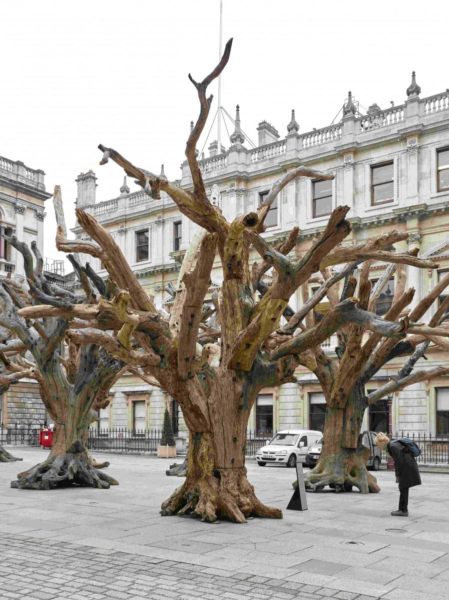 Ai Weiwei, Tree, 2010 © Ai Weiwei Studio Courtesy Lisson Gallery, Photography: JACK HEMS