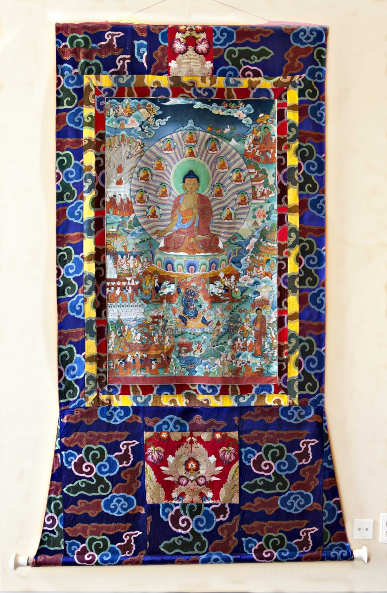 ... from the personal collection of His Holiness the Dalai Lama has been  made available for the exhibition Buddha s Life d8f1560f24